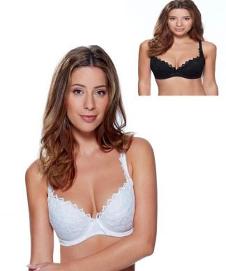 Lepel Fiore Plunge Bra in White