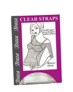 Braza Clear Bra Straps