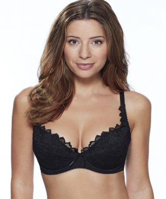 Lepel Fiore Padded Plunge Bra in Black