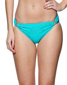 Summer Days Aqua Bikini Bottoms