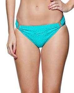 Summer Days Aqua Bikini Bottoms