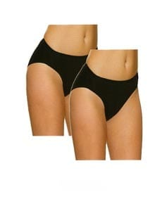 Charnos Black High Leg Knickers