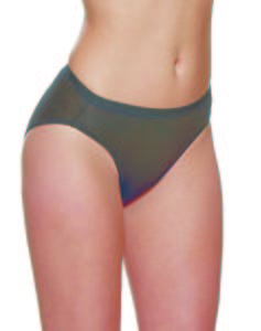 Charnos Black High Waist Knickers