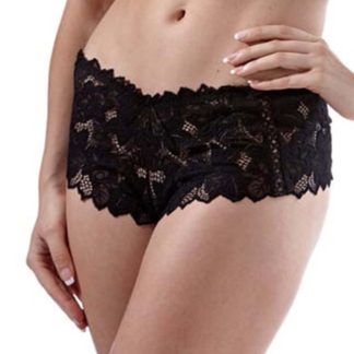 Fiore Black Lace Knickers