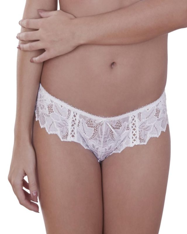 Lepel Fiore White French Knickers