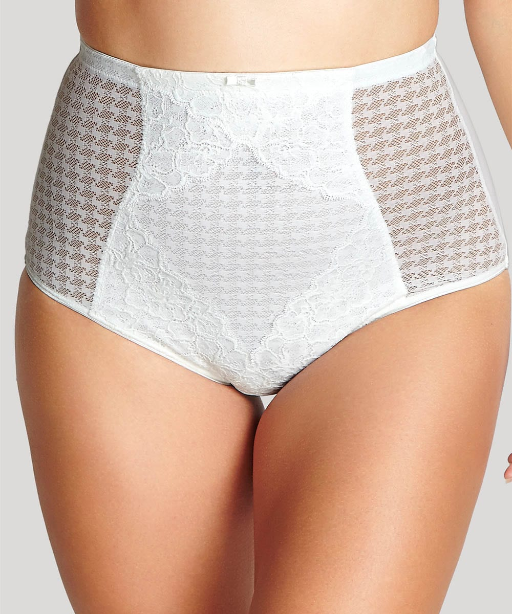 Panache Envy High Waisted Control Pants in Ivory