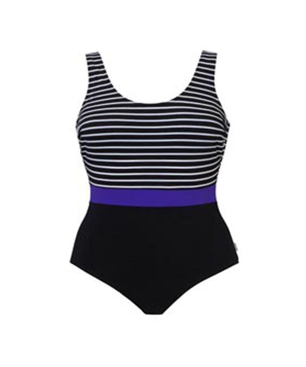 Tweka Latch Striped Swimsuit