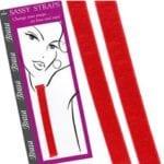 Coloured Bra Straps Red