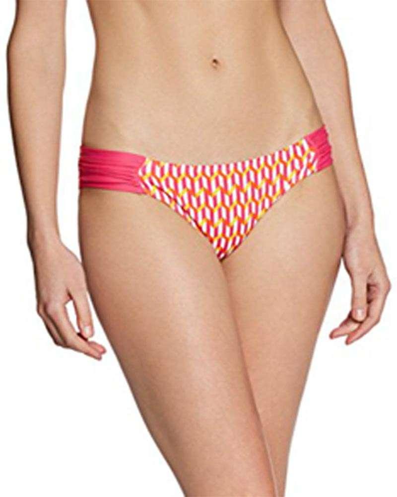Cindy Gathered Bikini Bottoms From Cleo