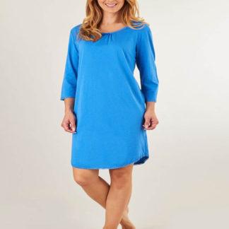 Slenderella Blue Cotton Nightshirt