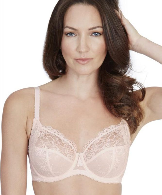 Bailey Full Cup Bra In Soft Pink