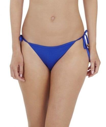 Lepel Lagoon Tie Side Bikini Bottoms In Blue