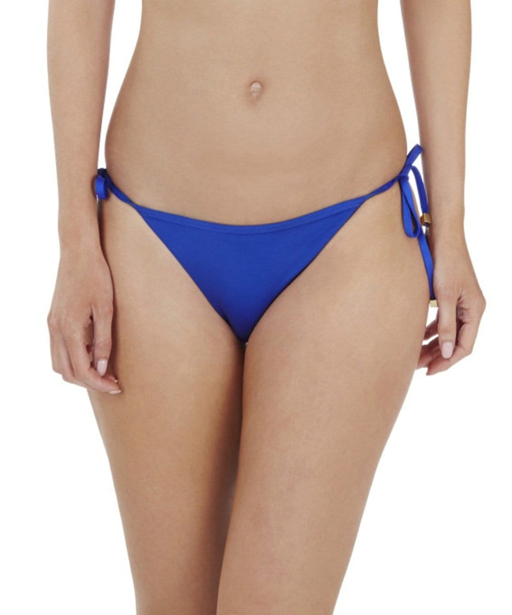 Lepel Lagoon Tie Side Bikini Bottoms In Blue