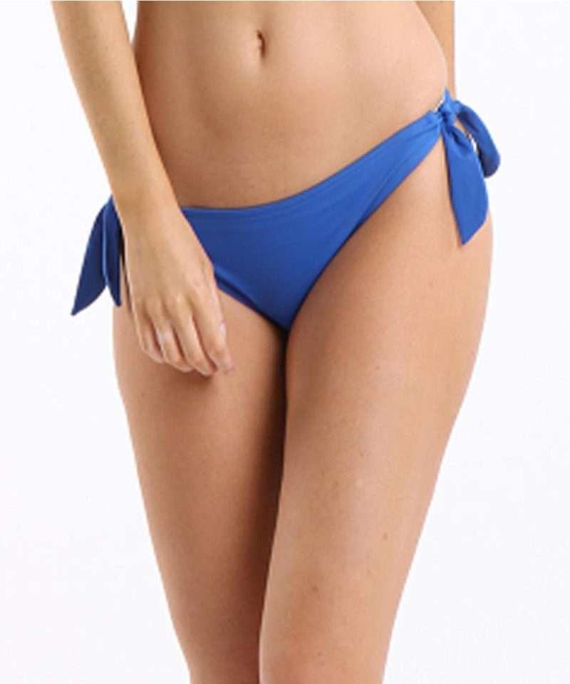 Lepel Bow Blue Bikini Bottoms