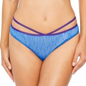 Lepel London Chelsea Geo Thong Blue Purple