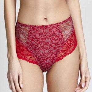 Panache Jasmine Red Knickers