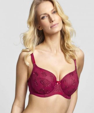 Panache Tango Balcony Bra in Red