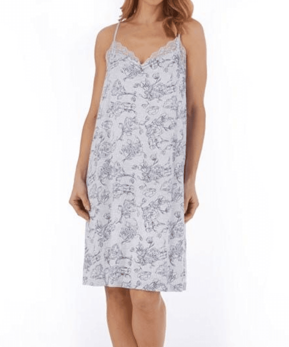 Floral Jersey Chemise