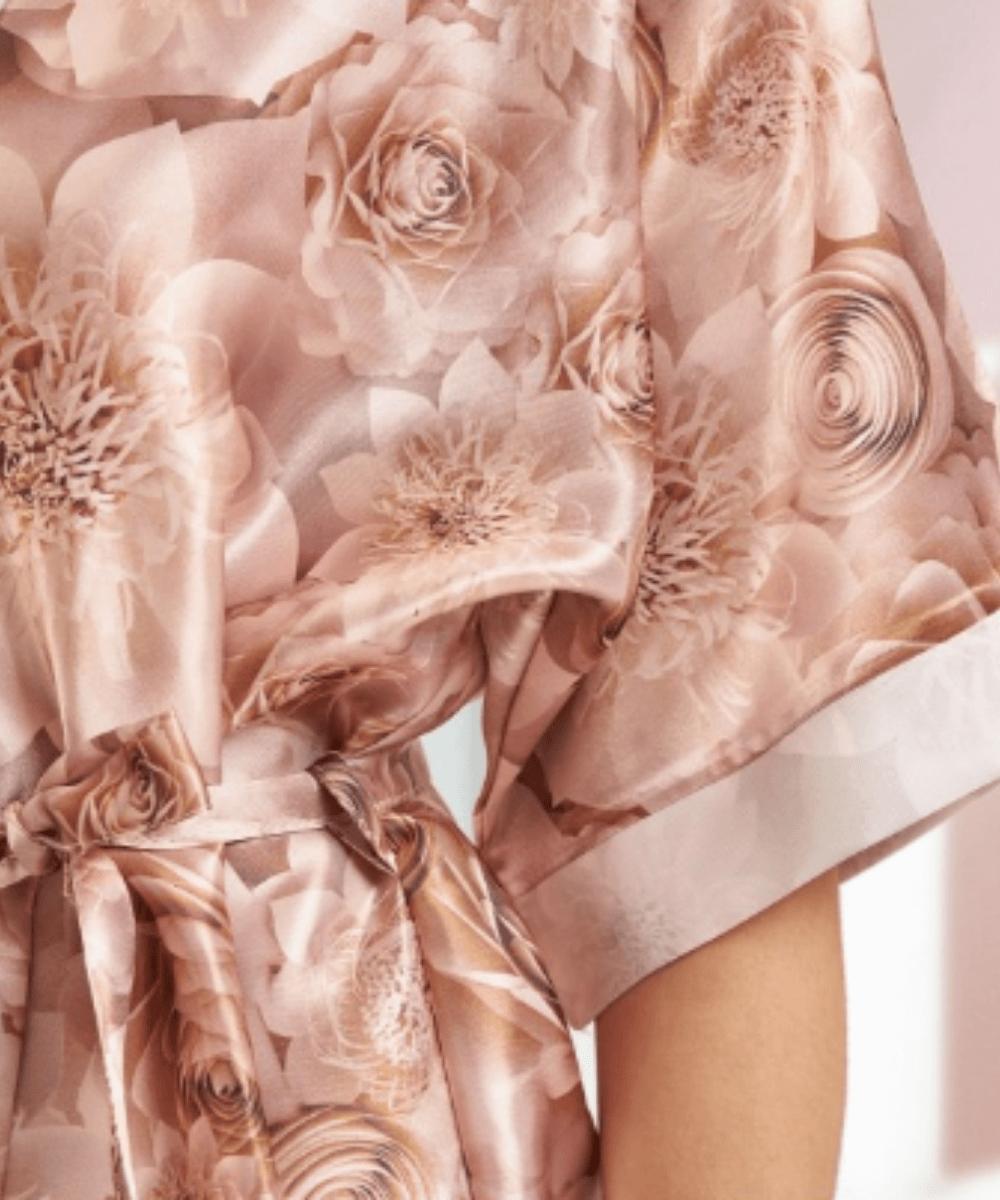 Rose Gold Satin Robe Swatch