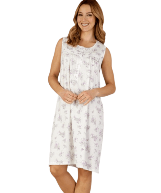 Floral White Nightdress