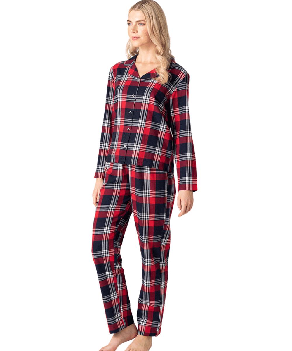 Red Tartan Pyjama Set