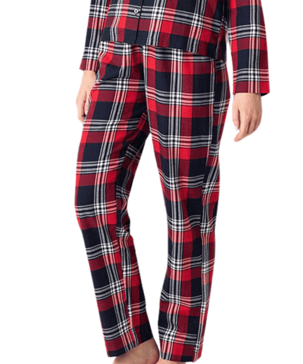 Red Tartan Pyjama Trousers